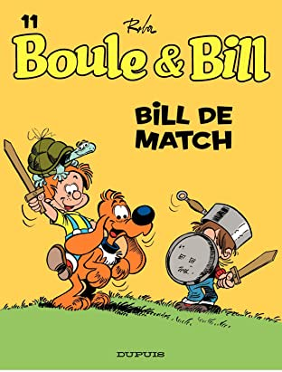 Boule et Bill Vol. 11: Bill de match