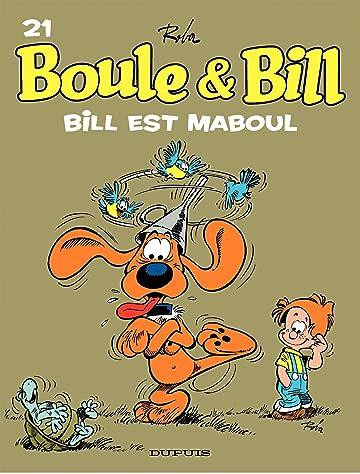 Boule et Bill Vol. 21: Bill est maboul