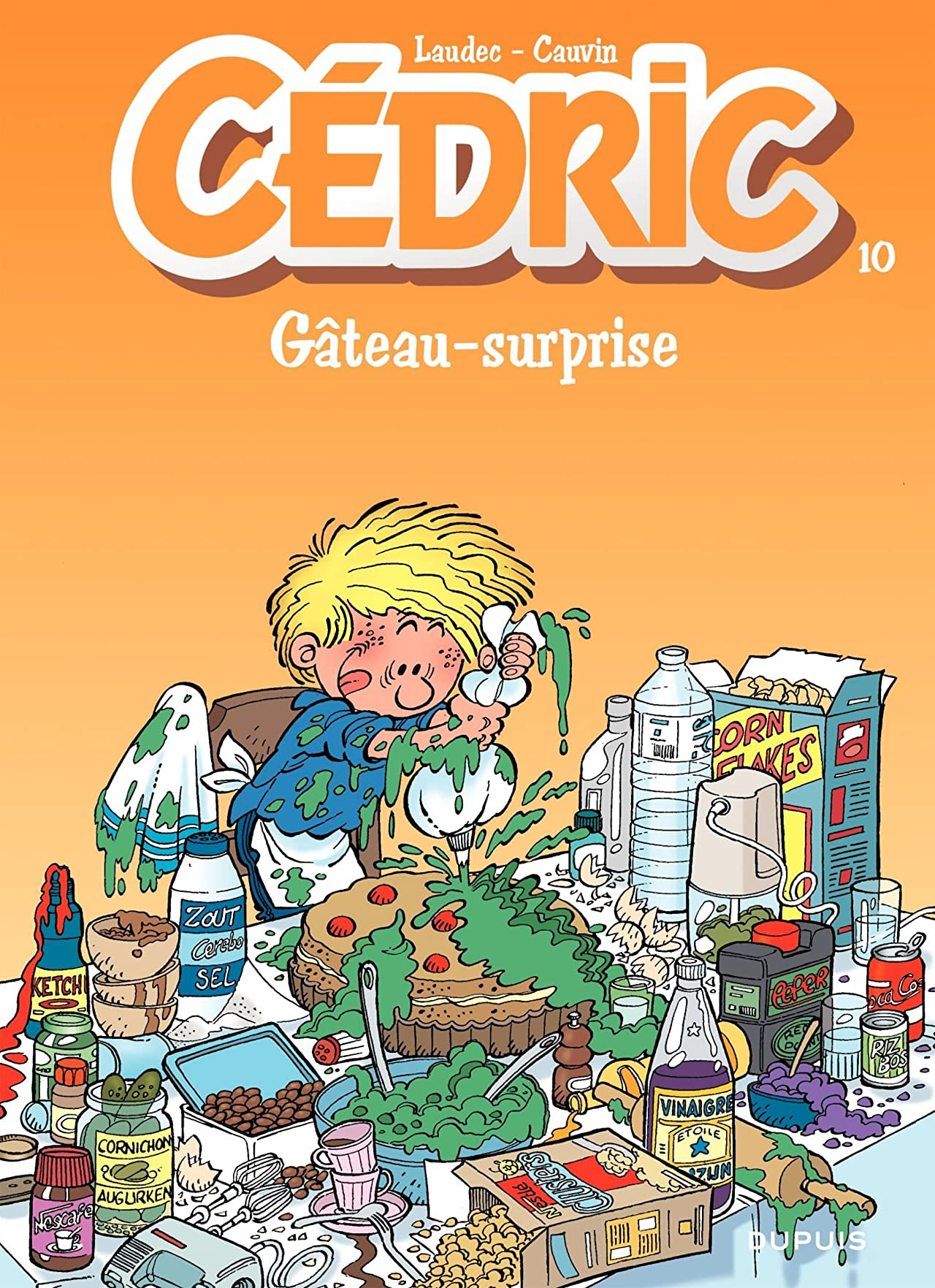 Cédric Vol. 10: GATEAU SURPRISE