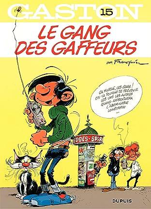 Gaston Tome 15: Le gang des gaffeurs