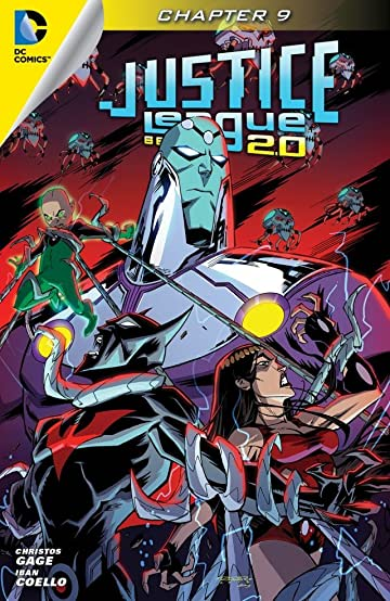 Justice League Beyond 2.0 (2013-2014) #9