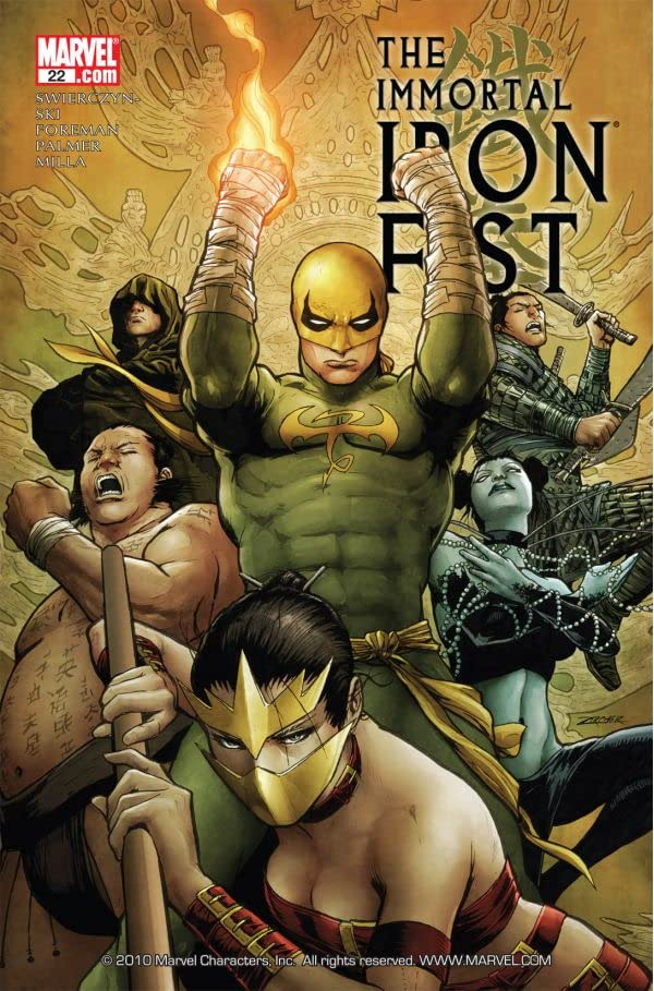 Immortal Iron Fist #22