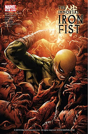 Immortal Iron Fist #23