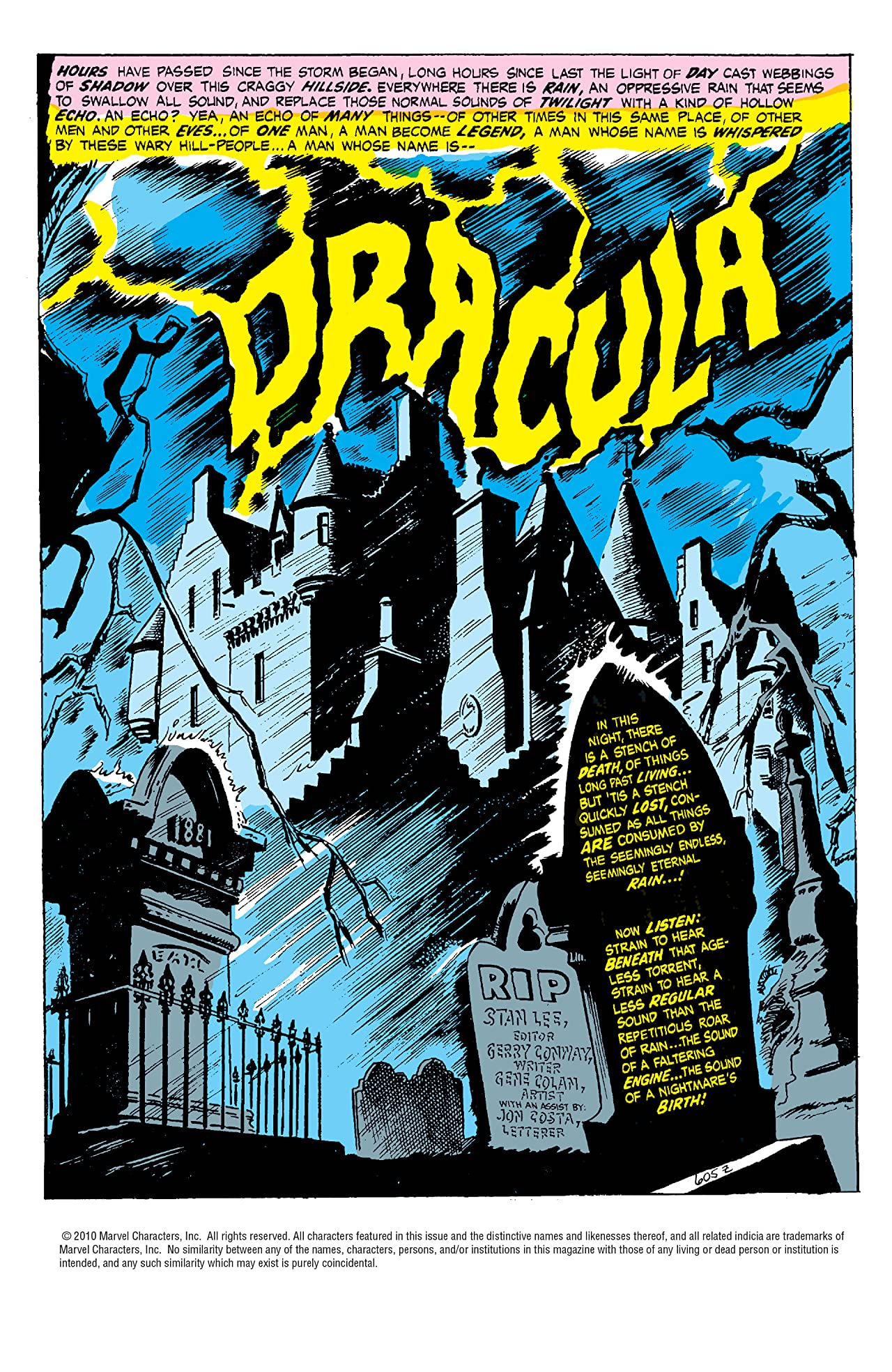 Tomb of Dracula: The Complete Collection Vol. 1