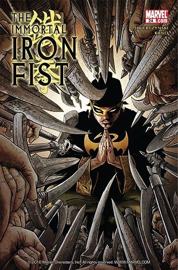 Immortal Iron Fist (2006-2009) #24