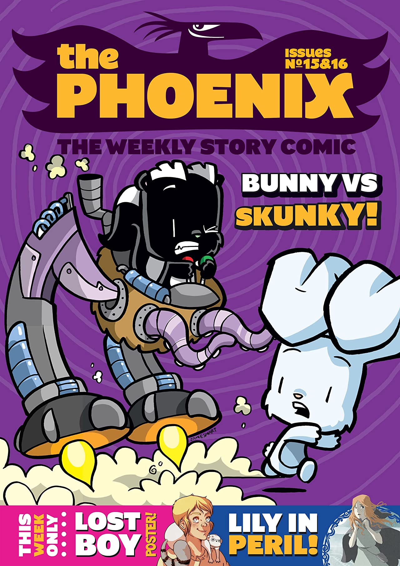 The Phoenix #15 & 16: The Weekly Story Comic (Double Issue)