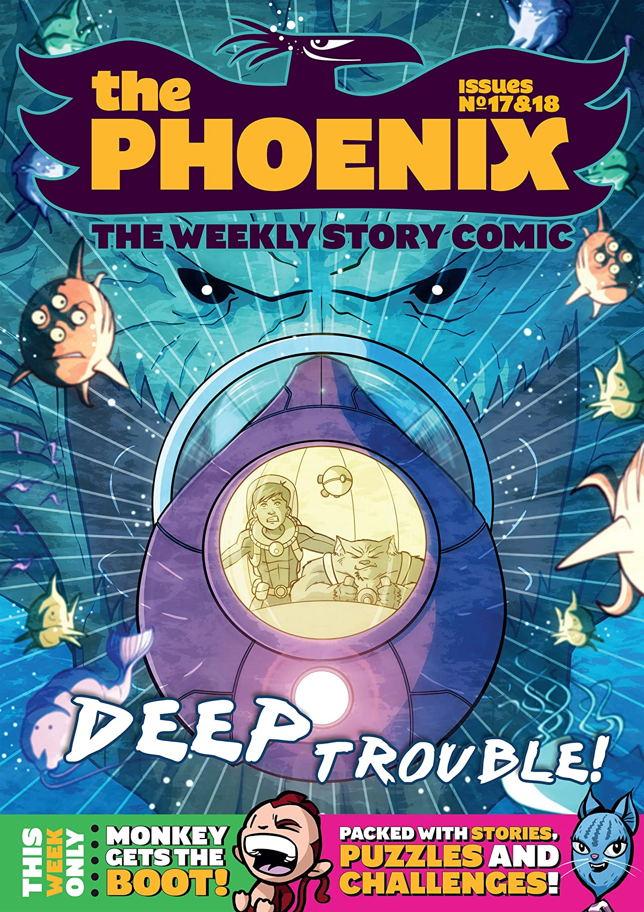 The Phoenix #17 & 18: The Weekly Story Comic (Double Issue)