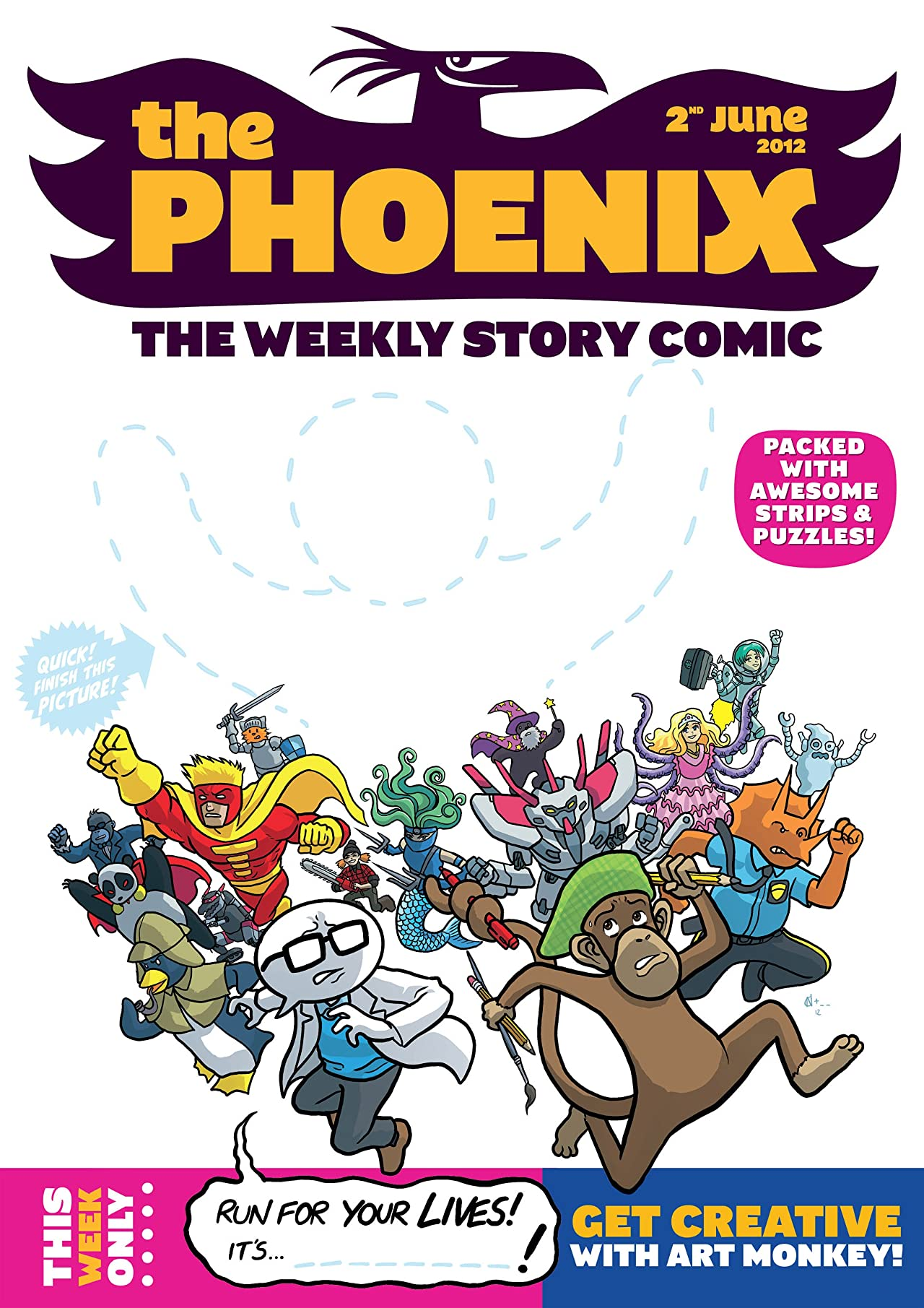 The Phoenix #22: The Weekly Story Comic