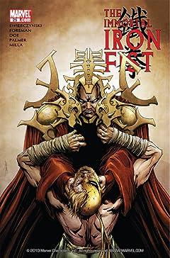 Immortal Iron Fist #25