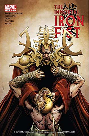 Immortal Iron Fist #25