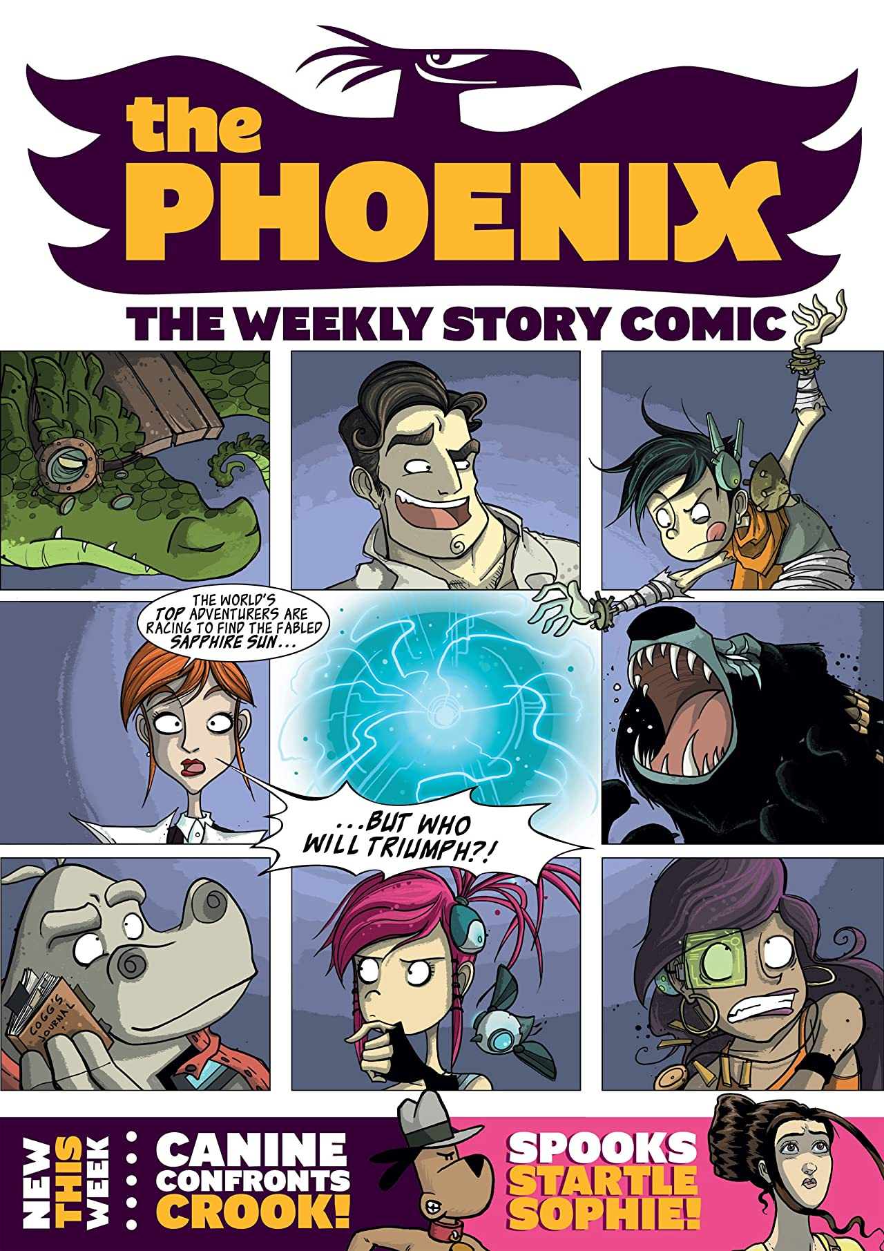 The Phoenix #35: The Weekly Story Comic