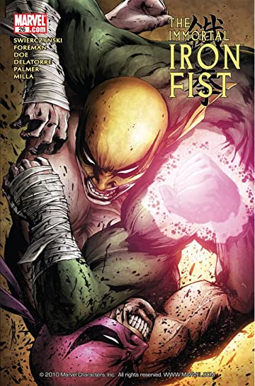 Immortal Iron Fist (2006-2009) #26