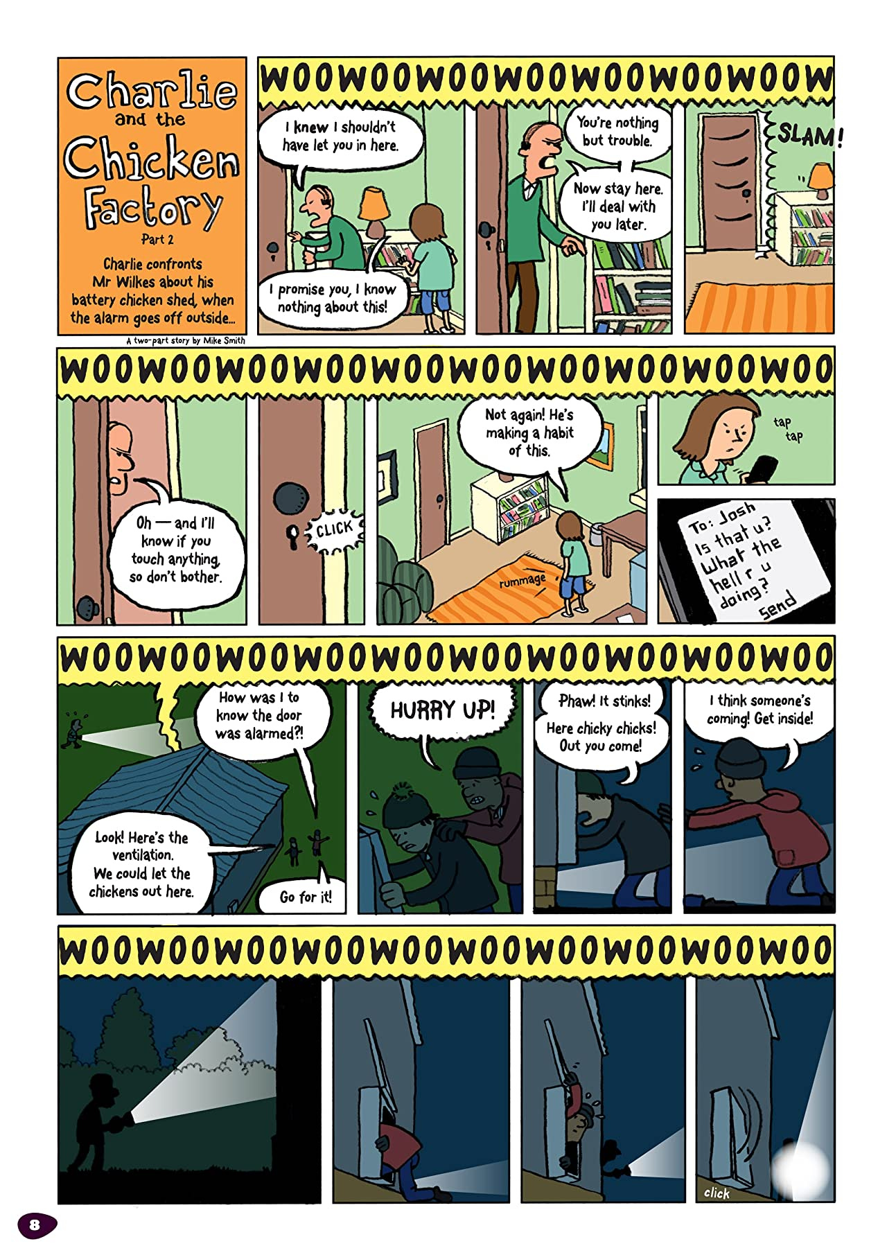 The Phoenix #72: The Weekly Story Comic