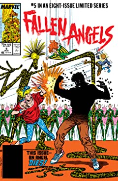 Fallen Angels (1987) #5 (of 8)