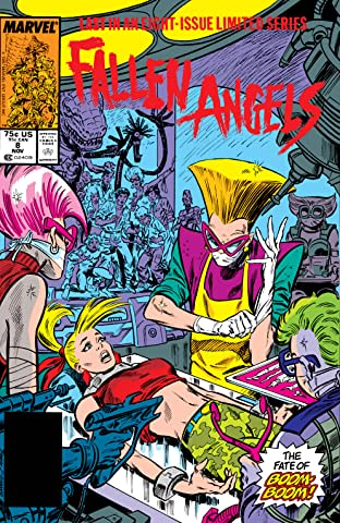 Fallen Angels (1987) #8 (of 8)
