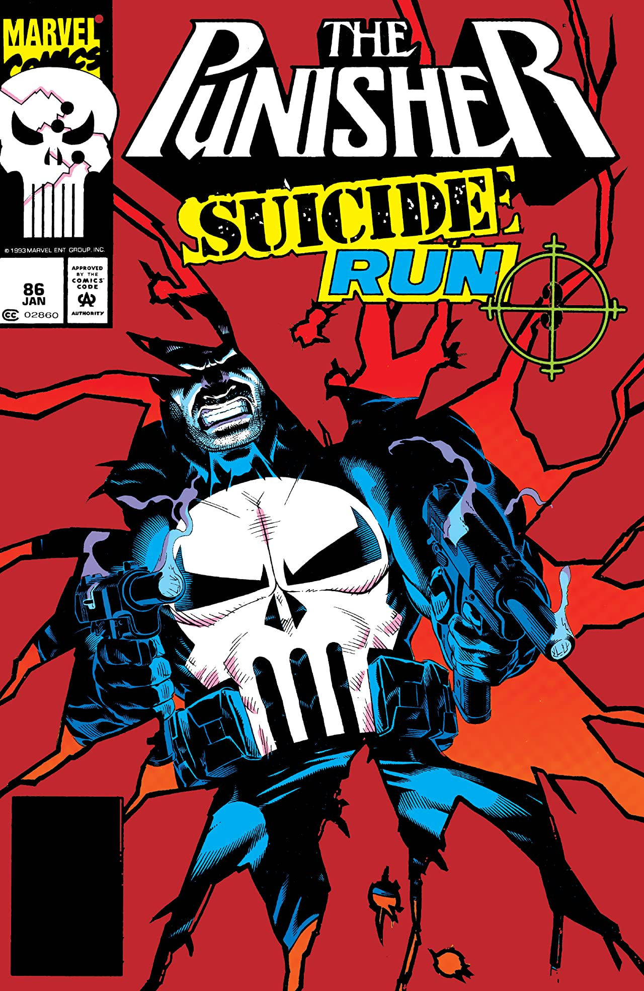 The Punisher (1987-1995) #86