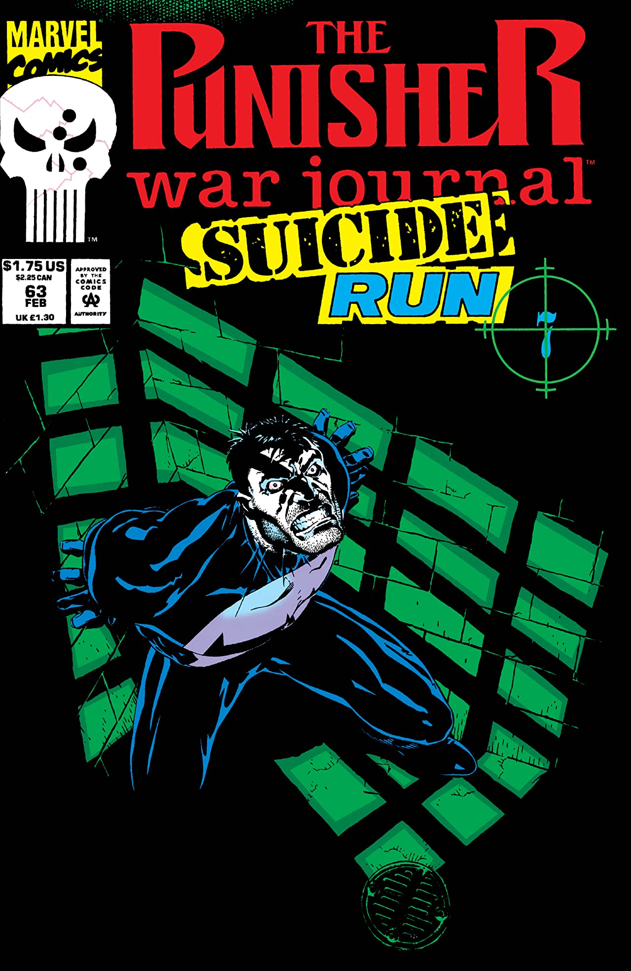 Punisher War Journal (1988-1995) #63