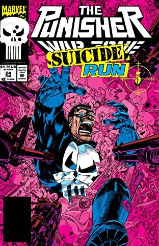 The Punisher: War Zone (1992-1995) #24