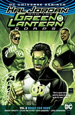 Hal Jordan and the Green Lantern Corps (2016-2018) Tome 3: Quest for Hope