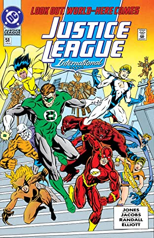 Justice League International (1989-1993) #51