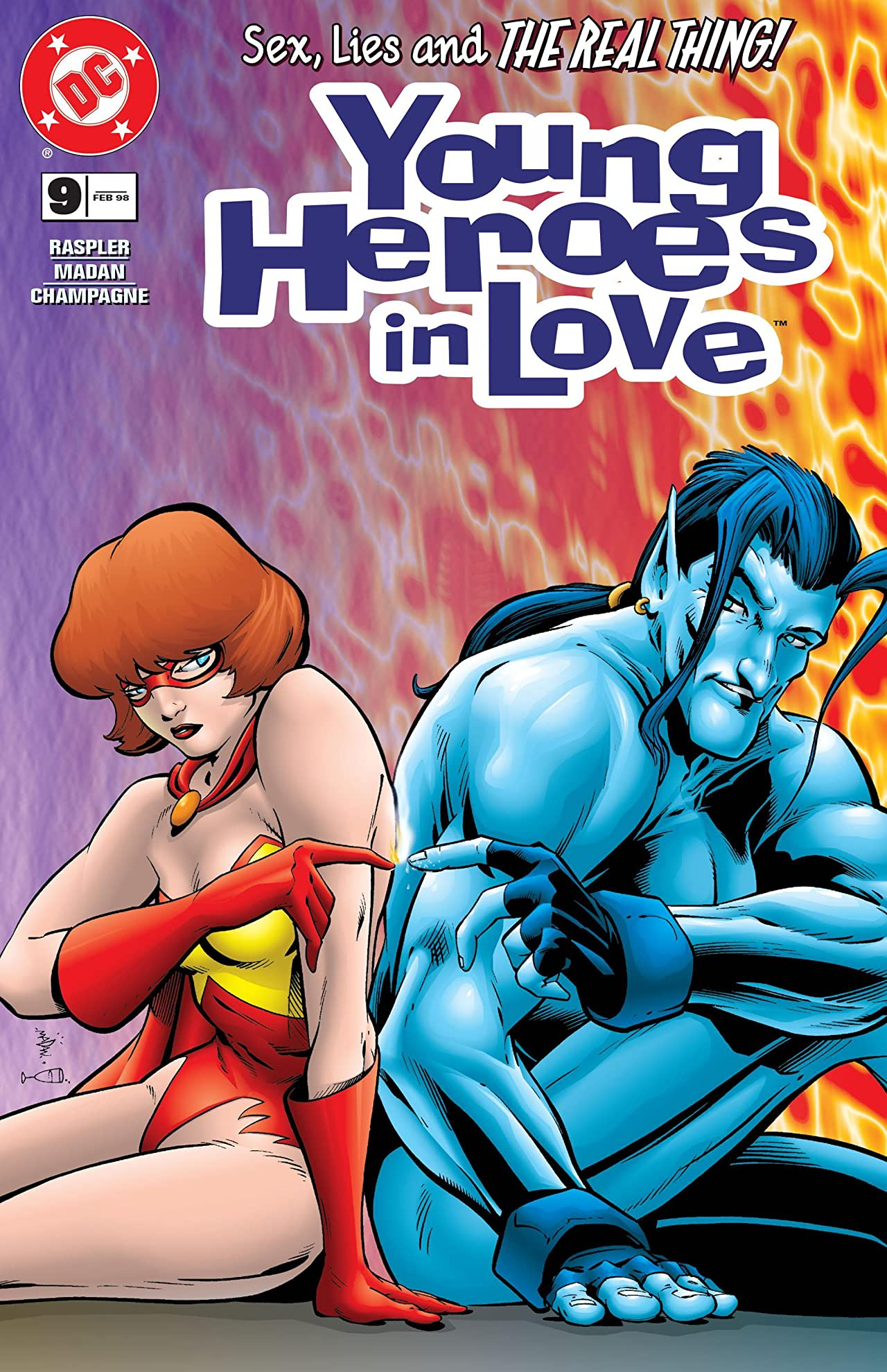 Young Heroes in Love (1997-1998) #10