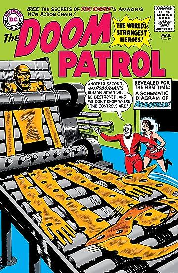 doom patrol 1964 1968 94 comics by comixology rh comixology com AC Circuit Diagram Parallel Circuit Diagram
