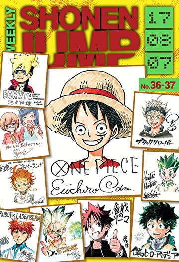 Weekly Shonen Jump Vol. 286: 08/07/2017
