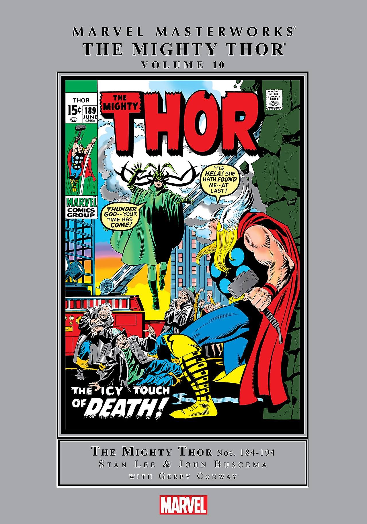 Thor Masterworks Vol. 10