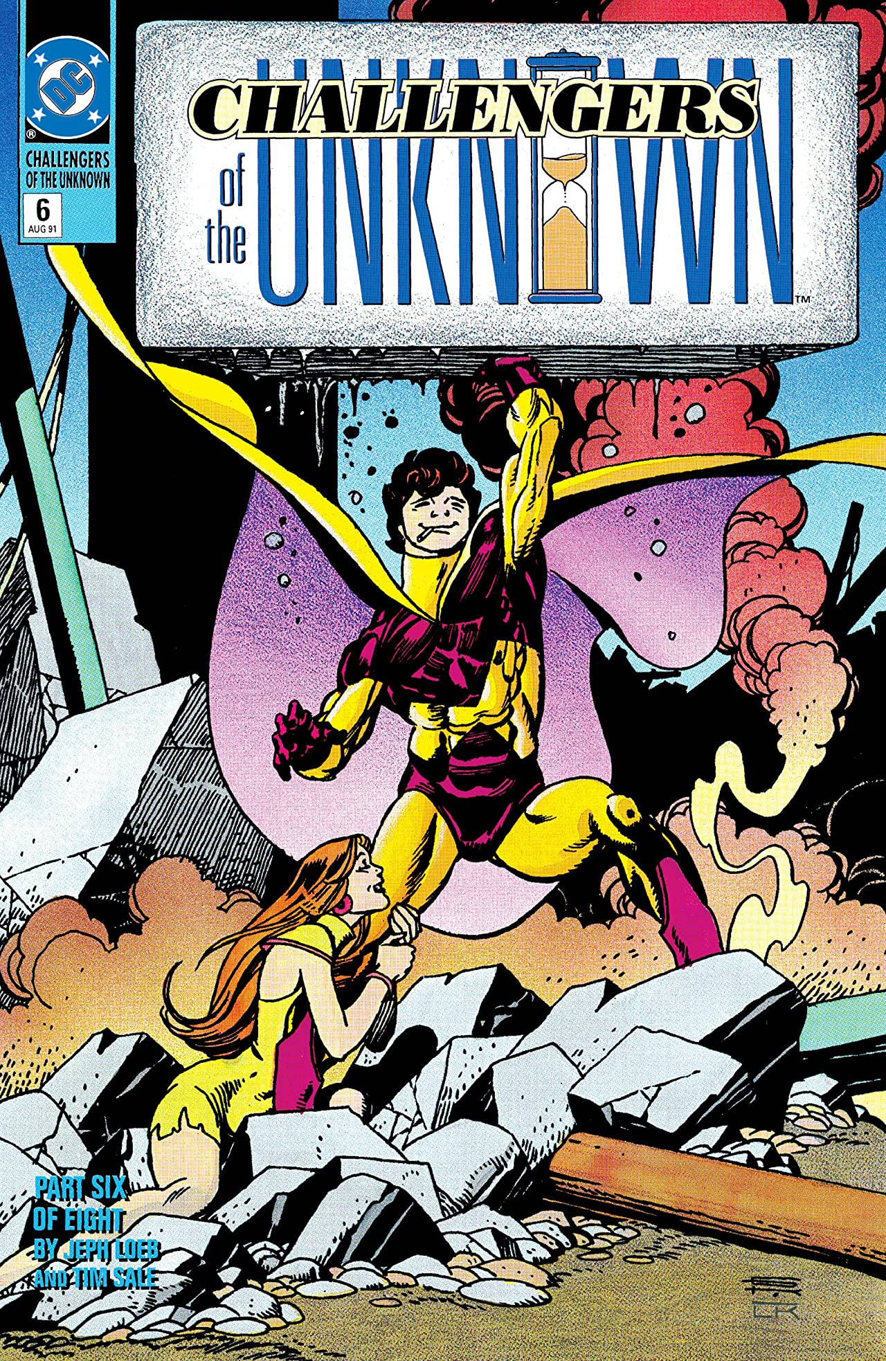 Challengers of the Unknown (1991) #6