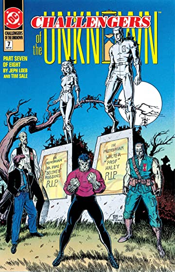 Challengers of the Unknown (1991) #7