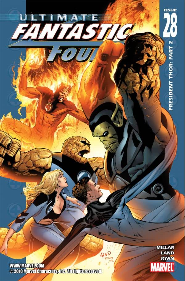 Ultimate Fantastic Four #28