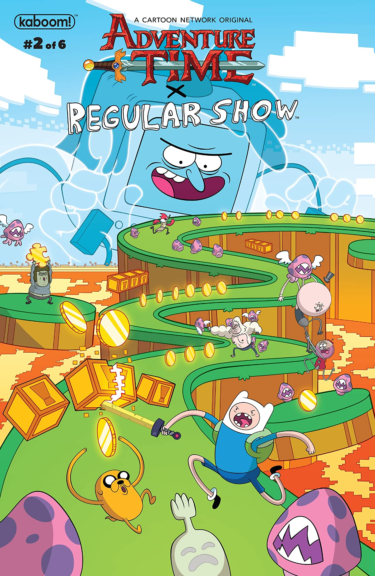Adventure Time/Regular Show #2