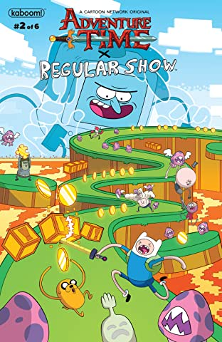 Adventure Time/Regular Show No.2