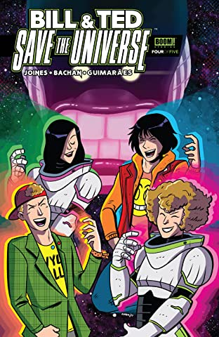Bill & Ted Save the Universe No.4