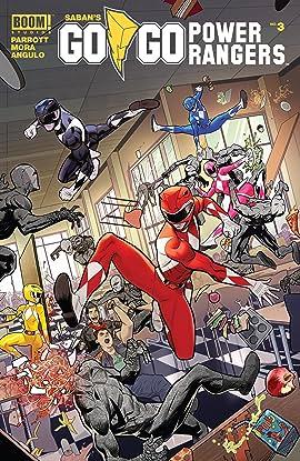 Saban's Go Go Power Rangers #3