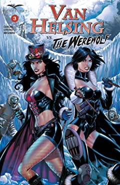 Van Helsing vs. The Werewolf No.3