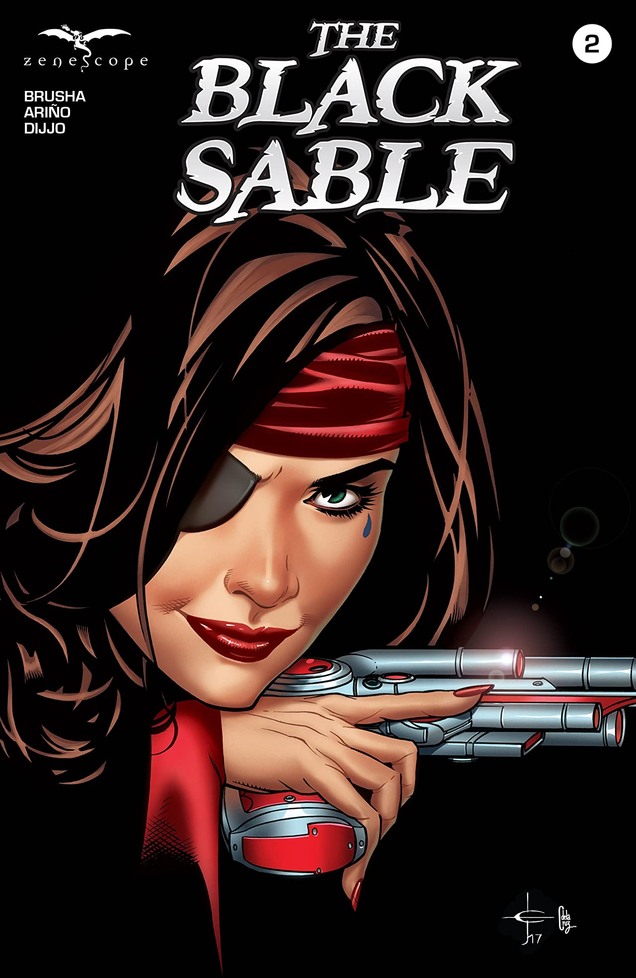 The Black Sable #2