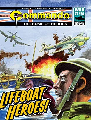 Commando #5043: Lifeboar Heroes!