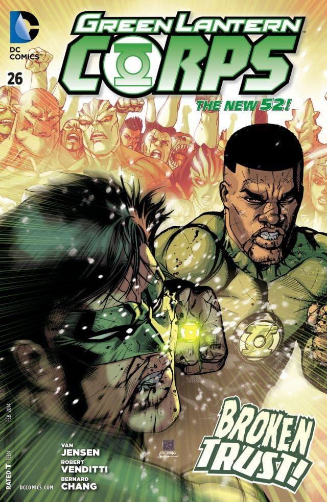 Green Lantern Corps (2011-2015) #26