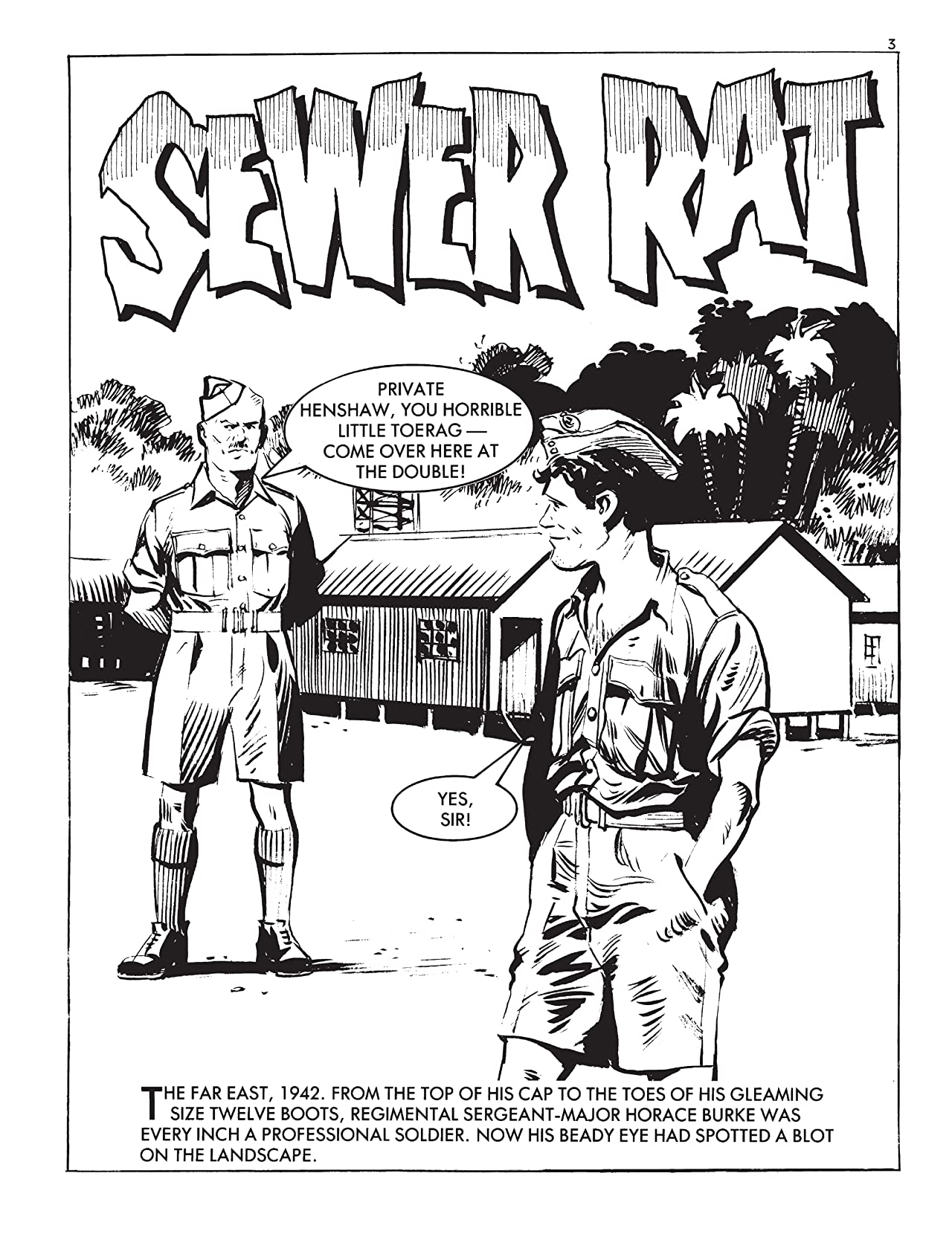 Commando #5046: Sewer Rat