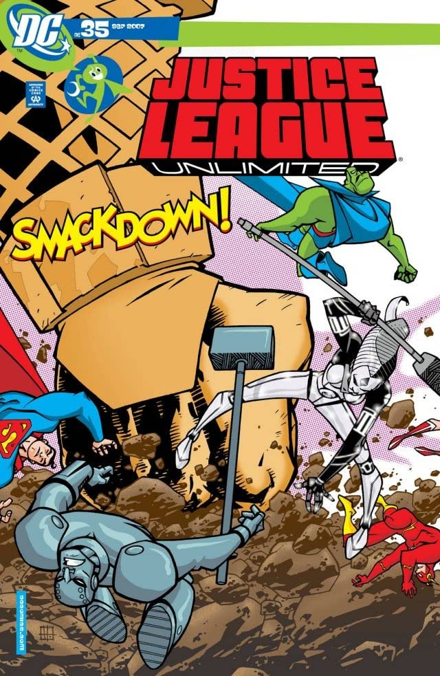 Justice League Unlimited #35