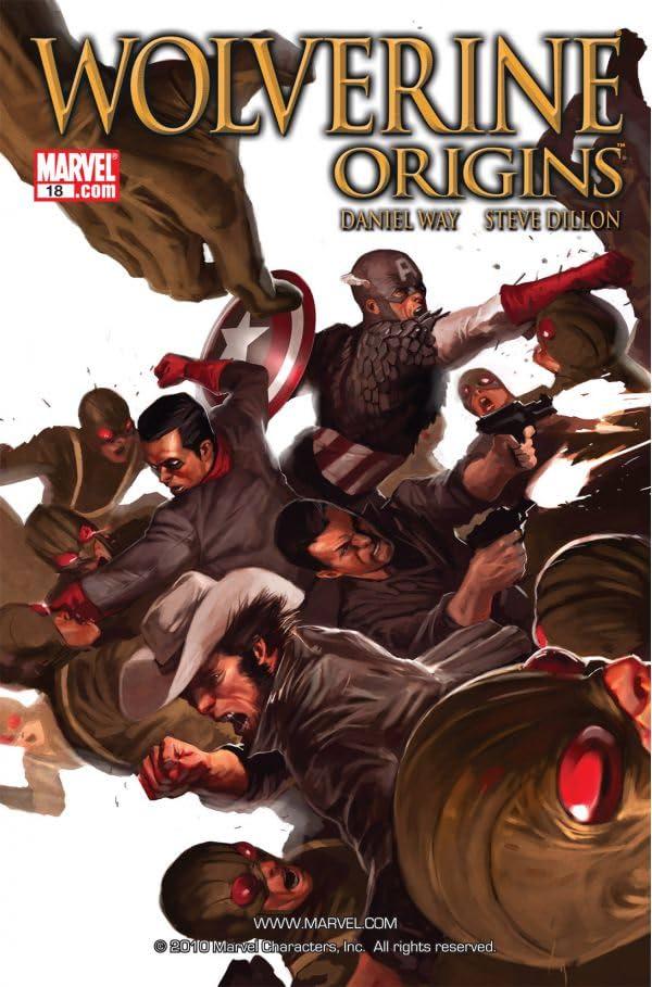 Wolverine: Origins #18