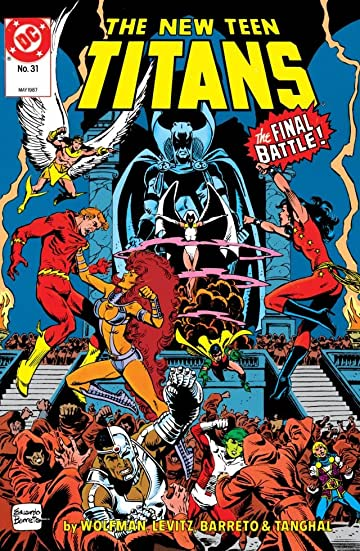 The New Teen Titans (1984-1996) #31
