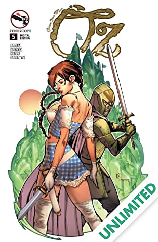 Grimm Fairy Tales: Oz #5 (of 6)