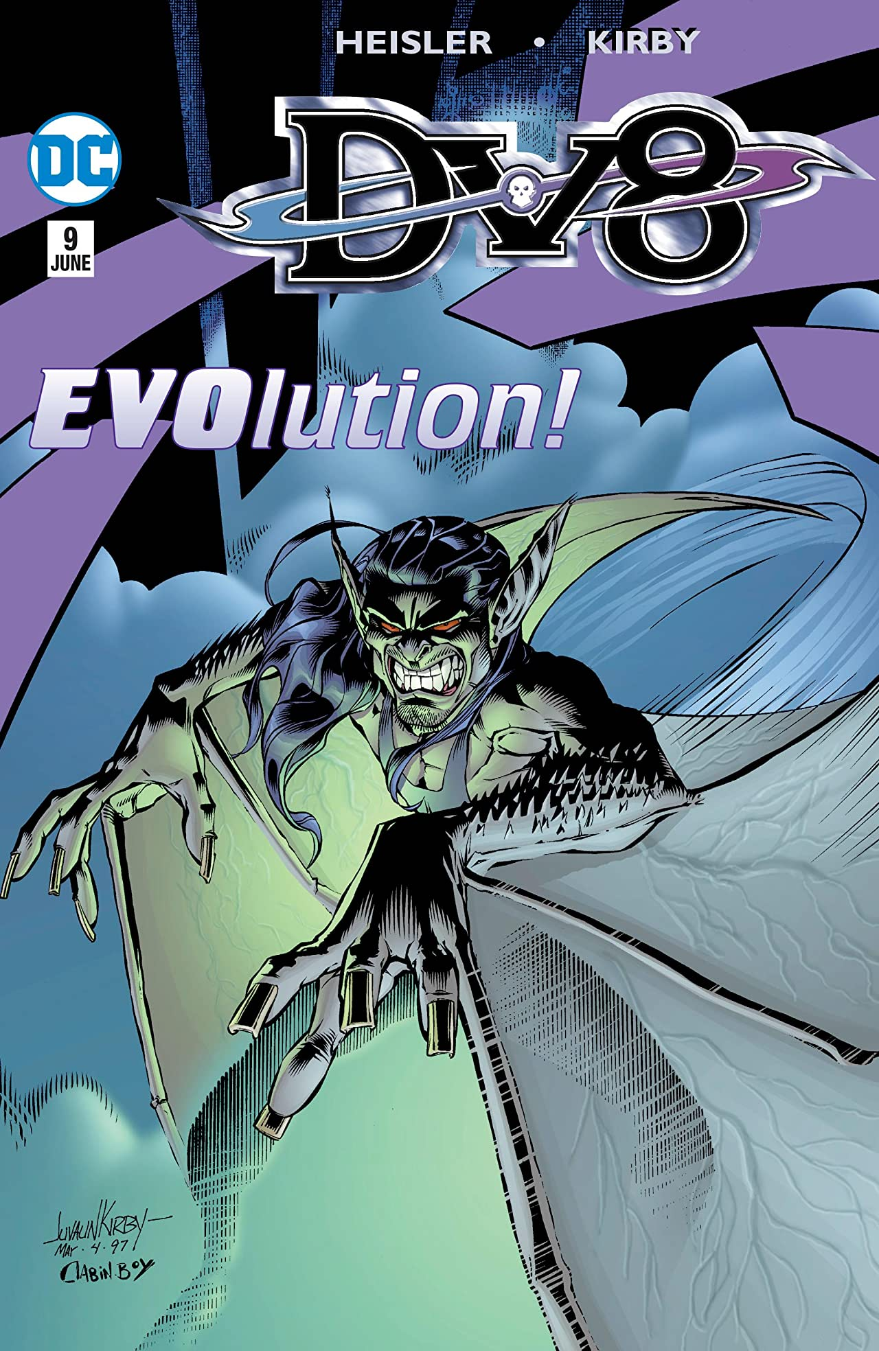 DV8 (1996-1999) #9