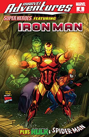 Marvel Adventures: Super Heroes (2008-2010) No.4