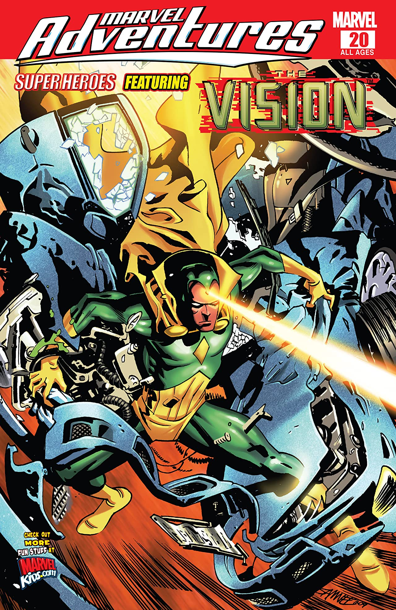 Marvel Adventures: Super Heroes (2008-2010) #20