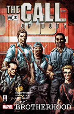 The Call of Duty: The Brotherhood (2002) #3 (of 6)