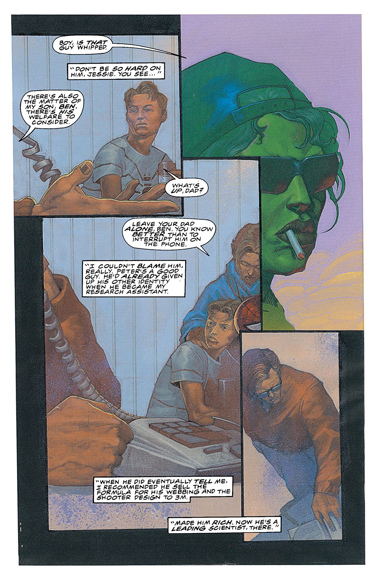 The Last Avengers Story (1995) #2 (of 2)