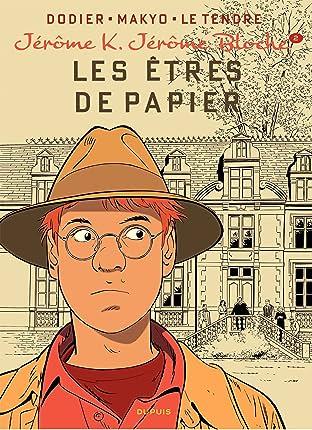 Jérôme K. Jérôme Bloche Vol. 2: LES ETRES DE PAPIER réédition